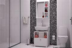 Conjunto de Banheiro BRV BKB 02 Armário+Gabinete