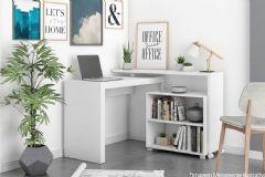Conjunto Office Brv Bko 18 (Mesa de Computador + Estante)