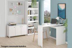Conjunto Office BRV BKO 19 (Estante + Mesa + Balcão)