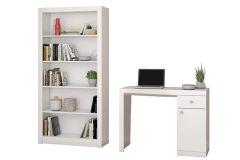 Conjunto Office BRV BKO 22 (Estante + Escrivaninha)