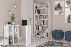 Conjunto Office BRV BKO 24 (Estante + Escrivaninha)