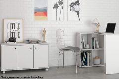 Conjunto Office BRV BKO 25 (Escrivaninha + Balcão)