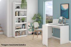 Conjunto Office BRV BKO 27 (Estante + Escrivaninha)