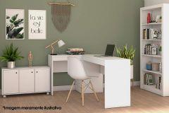 Conjunto Office BRV BKO 28 (Estante + Escrivaninha + Balcão)