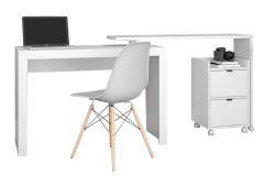 Conjunto Office BRV BKO 41 (Escrivaninha + Gaveteiro)