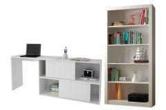 Conjunto Office BRV BKO 45 (Estante + Escrivaninha)