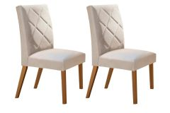 Cadeira Rufato Berlim Madeira (2 Unidades)