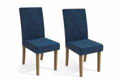Cadeira Kappesberg 2CAD131 Freijó (2 Unidades)-Estar Madeira