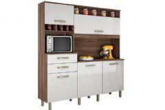 Kit de Cozinha Nesher Smart 5 Portas e 2 Gavetas
