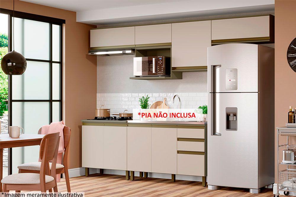 Cozinha Completa Henn Connect c/ 8 Peças CZ142