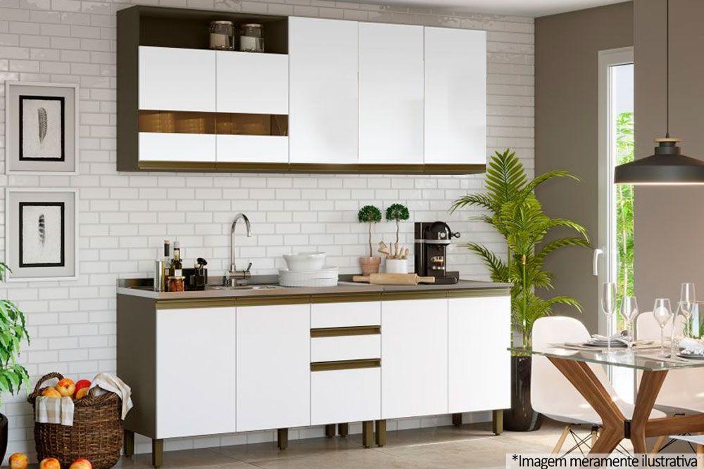Cozinha Completa Henn Briz c/ 5 Peças CZ154