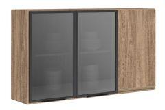 Armário de Cozinha Modulado Nicioli Kali 3042 c/Vidro 120cm