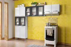 Cozinha Compacta Bertolini Múltipla CZM04 3 Peças (Paneleiro+2 Armários)