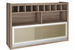 Armário de Cozinha Nesher Baronesa 1 Porta Basculante c/ Vidro 120cm