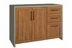 Gabinete de Cozinha Modulado Nesher Camponesa 2 Portas 120cm