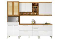 Cozinha Nesher Burguesa 5 Peças (Paneleiro +2 Armários+2 Gabinetes) CZ28
