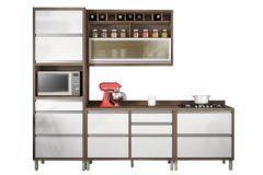 Cozinha Nesher Baronesa 4 Peças (1 Paneleiro + 1 Aéreo + 2 Gabinetes) CZ35