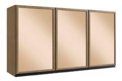 Armário de Cozinha Genialflex Premium 3 Portas c/Vidro 120cm