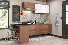 Cozinha Completa Planejada Multimóveis Calábria 5455 5 Peças