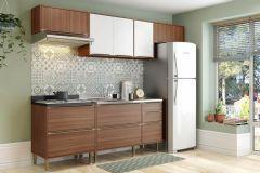Cozinha Completa Modulada Multimóveis Calábria 5456 5 Peças