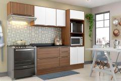 Cozinha Compacta Modulada Multimóveis Calábria 5457 4 Peças