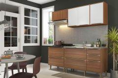 Cozinha Completa Modulada Multimóveis Calábria 5459 4 Peças