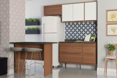 Cozinha Compacta Modulada Multimóveis Calábria 5460 4 Peças