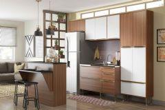 Cozinha Compacta Modulada Multimóveis Calábria 5464 5 Peças