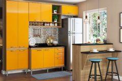 Cozinha Completa Compacta Multimóveis Sicília 5846 5 Peças