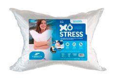 Travesseiro Fibrasca Xô Stress Fibra + Espuma Massageadora