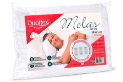 Travesseiro Duoflex Nasa Molas Alto NM1100 Capa p/Fronha