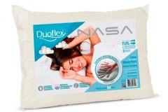 Travesseiro Duoflex Nasa Viscoelástico NS1114 Capa de Algodão
