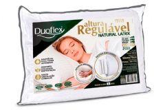 Travesseiro Duoflex Natural Látex Regulável 4 Alturas RL1100
