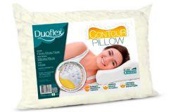 Travesseiro Duoflex Contour Pillow TP2102 p/ Fronha 50x70