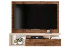 Painel Caemmun Black p/ Tv de até 55 c/ 1 Porta