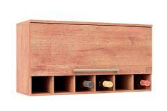 Armário de Cozinha Ronipa Nápoli Prime 1 Porta Basculante 80cm