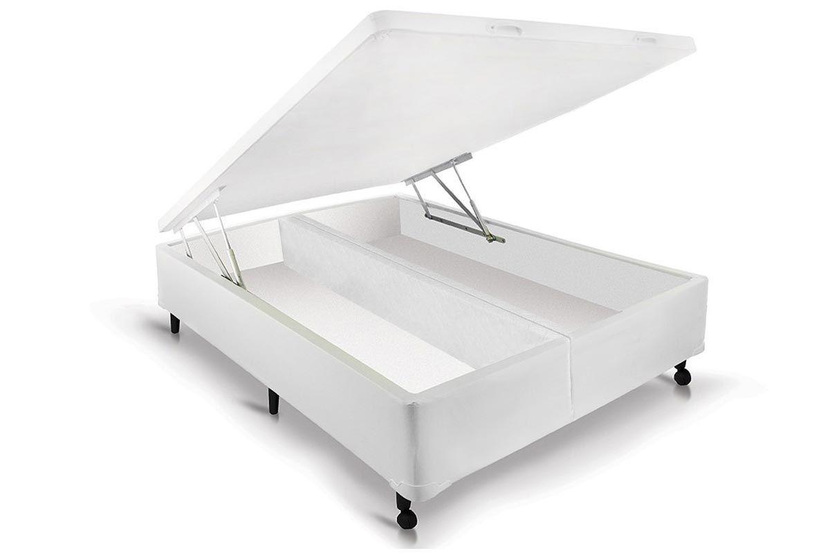 Cama Box Baú Castor Universal Branco