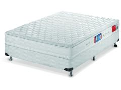 Colchão Orthocrin de Espuma D33 Royal Plus Pillow Top Pró Saúde Duplo Selo INMETRO e INER - Orthocrin