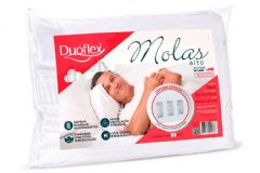 Travesseiro Duoflex de Molas MN1100 200 Fios p/ Fronha 50x70