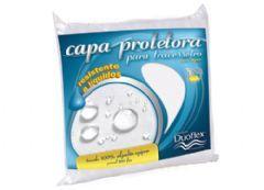 Fronha p/ Travesseiro Duoflex Percal 200 Fios Impermeável - Protetor de Travesseiro Impermeável 50x70